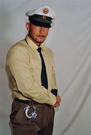 Polizist Partystrip