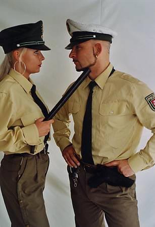 Polizei Duo Strip