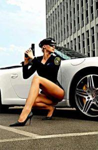 Marie sexy Polizistin